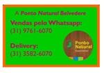 5% de desconto em produtos na Ponto Natural Belvedere - Vendas: (31) 9761-6070